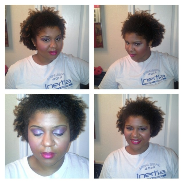 Late Night Make-Up Session