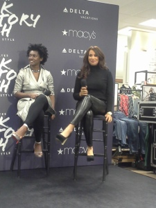 "C. White & B. Johnson discussing ""Black Style"""