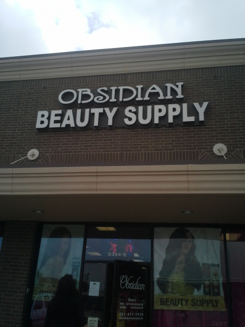 Obsidian Beauty Supply, not your average store!