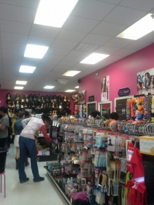 Inside of Obsidian Beauty Supply