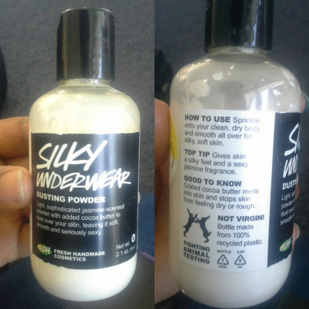 """Silky Underwear Dusting Powder from Lush"