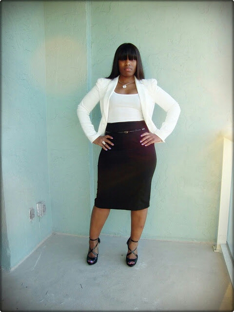 "Curves in Confidence in ""Perfect in a Pencil Skirt"""