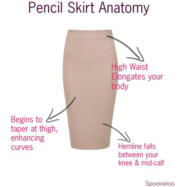 Pencil Skirt Anatomy