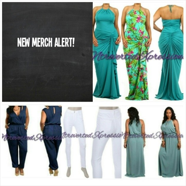 Looking for new summer looks? Come on by Ntroverted Expressions!