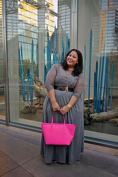 "Plus Size Blogger ""Garner Style"""
