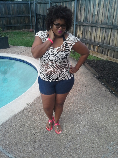 Summer Flings and things! Family celebrations call for a pool party right? This particular style was inspired by the warm breezes and party atmosphere.