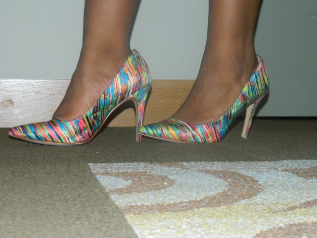 Multi Colored Pumps: Target