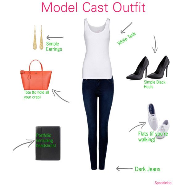 Model Cast Outfit