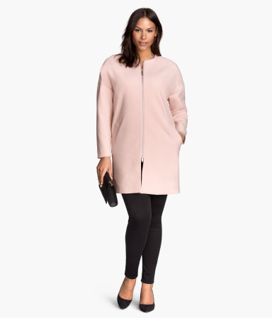 H&M+ Coat, Powder Pink ( I need this!)