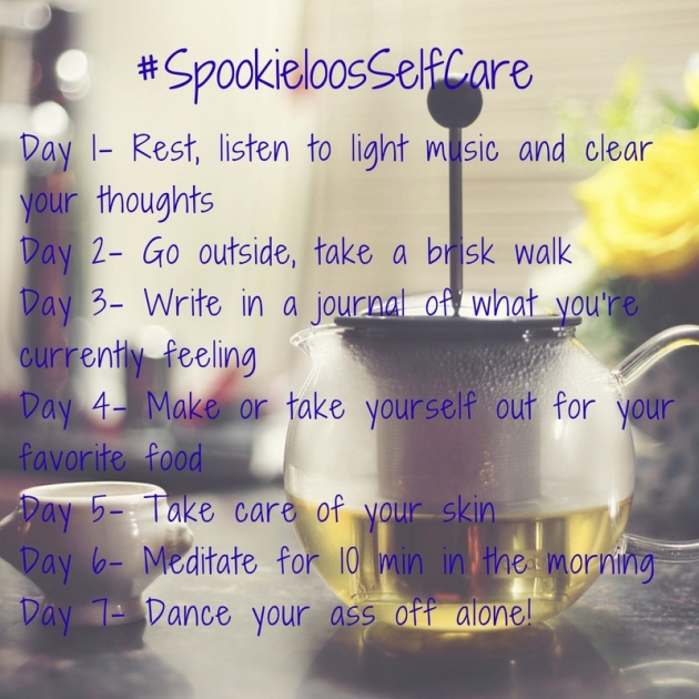 Day1- Rest, listen to light music and clear your thoughts (2)